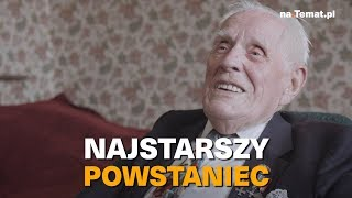 Najstarszy żyjący powstaniec warszawski.