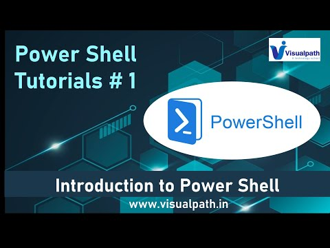 Introduction to PowerShell for Beginners Lesson 01 By Visualpath ...