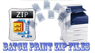 How To Batch Print ZIP File Contents Automatically