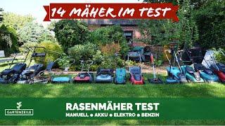 Rasenmäher Test - 14 Modelle im Praxistest - Fazit