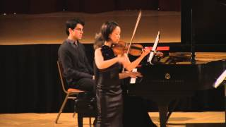 Debussy Clair de lune. Mari Lee, violin Dina Vainshtein, piano in HD (Simon)