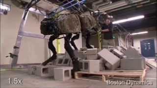 Boston Dynamics All Prototypes