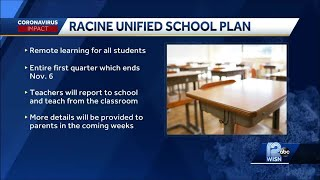 Racine Unified to start school year with remote learning