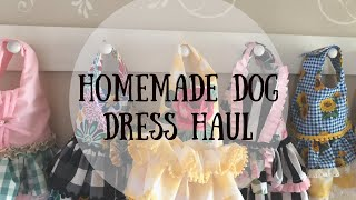 Homemade Dog Dress Haul