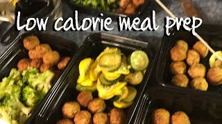 Low Calorie Meal Prep: Each Meal Right At 300 Calories Each