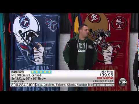 NFL 60 x 80 Silk Touch Throw