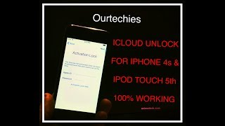 IPHONE 4s|| iIPOD 5th GENERATION ICLOUD ACTIVATION LOCK UNLOCKED 100% WORKING PERMANENT SOLUTION
