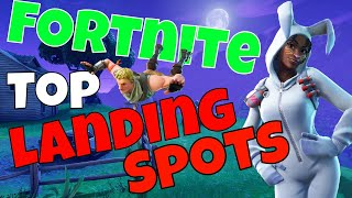 Fortnite - Top Landing Spots for CONSISTENT WINS