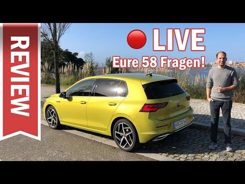 VW Golf 8 1.5 eTSI im Live Test: Innenraum, Motor, Assistenz & eure Fragen