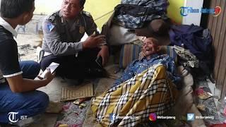 Viral Media Sosial Seorang Kakek Terlantar di Jalan Pantura Kota Tegal, Petugas Langsung Evakuasi