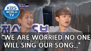 "SHINee ""We're worried no one will sing our song..""  [Happy Together/2018.07.12]"