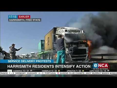 Harrismith residents intensify action
