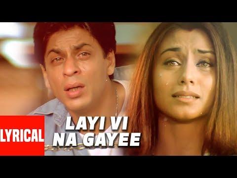 Download Lyrical Video: Layi Vi Na Gayi | Chalte Chalte | Sukhwinder Singh | Shah Rukh Khan, Rani Mukherjee HD Mp4 3GP Video and MP3