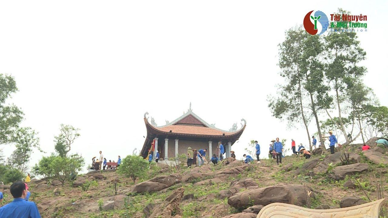 """Chương trình """"Chùa xanh"""": Trồng cây tại chùa Đồng, Thanh Hóa"""