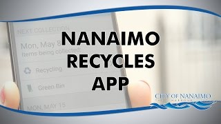 The New Nanaimo Recycles App