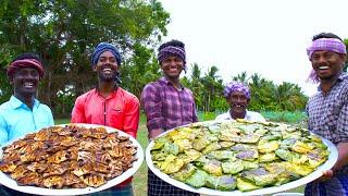 MEEN POLLICHATHU   KERALA Special Fish Fry in Banana Leaf   Silver Pomfret Fish Fry Karimeen Recipe