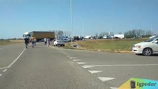 Станичники перекрыли дорогу в Краснодарском крае