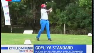 Wachezaji 500 washiriki katika mashindano ya Gofu ya Standard