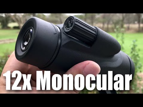 Monocular review telescope