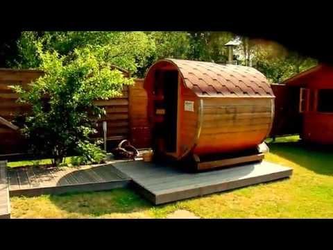 Un 360° de notre JARDIN BIEN-ETRE : jacuzzi - sauna - baquet suédois