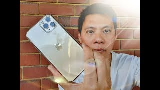 iPhone 11 Pro: Review of Clear Case Ultra Slim Thin Soft TPU Protective Cover