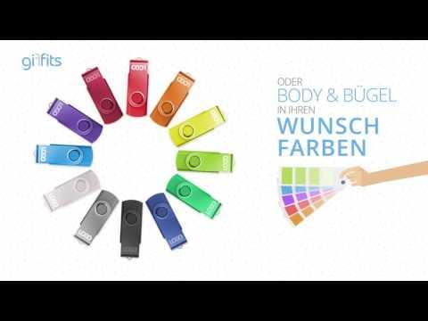 USB Stick Swing 3.0 als Werbeartikel mit Ihrem Logo