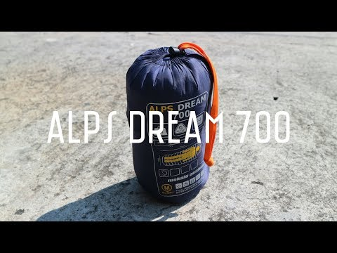 Sleeping Bag Ultra Light Makalu Alps Dream 700 REVIEW