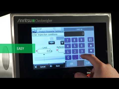 Checkweighers - Anritsu - Anritsu Inspection  - Checkweighers - sold by Package Devices LLC