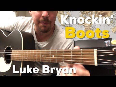 Knockin' Boots | Luke Bryan | Beginner Guitar Lesson