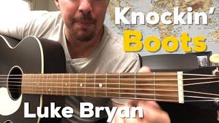 Knockin' Boots | Luke Bryan | Beginner Guitar Lesson
