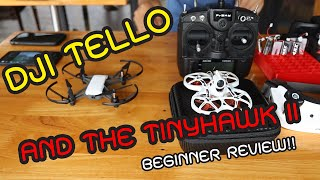 Dji Tello vs Emax TinyHawk 2 fun beginner review in Siln Channel