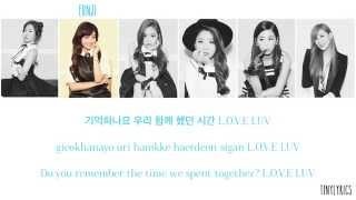 Apink (에이핑크) - LUV (러브) [Hangul/ Romanization/ English Color Coded Lyrics]