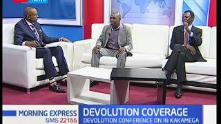 Morning Express: Media performance on devolution