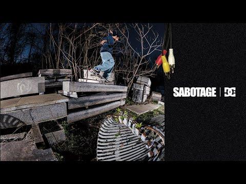 DC SHOES : SABOTAGE x DC