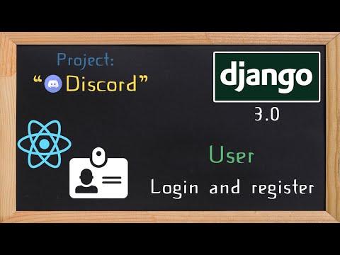 Django and ReactJS together - User app login and register  | 4 thumbnail
