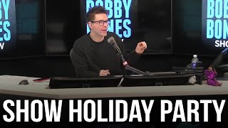 The Bobby Bones Show Holiday Party Went Down