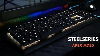 Steelseries Apex M750 Mechanical Keyboard: RGB Lighting King!!!