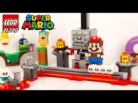 Vidéo LEGO Super Mario 71376 : La chute de Thwomp - Ensemble d'extension