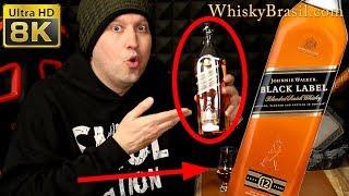 Whisky Brasil 11: BLACK LABEL Review - Johnnie Walker [8K]