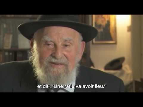 Le Rabbin Yitzhak Elhanan Gibraltar raconte la rafle dans le ghetto de Kovno