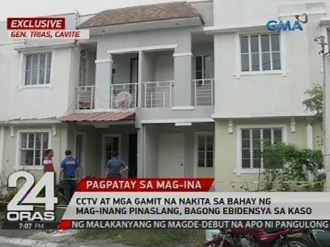 CCTV at mga gamit na nakita sa bahay ng mag-inang pinaslang, bagong ebidensya sa kaso