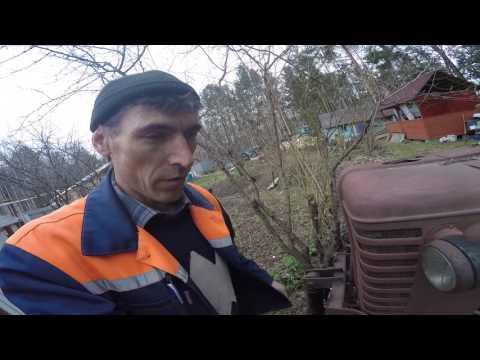 Поездка на тракторный разбор и что я там нашел