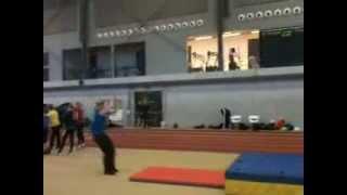 Aron front flip