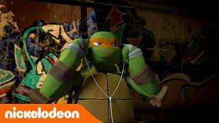 Черепашки-ниндзя   1 сезон 5 серия   Nickelodeon Россия