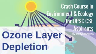 Ozone Layer Depletion - Environment & Ecology for UPSC CSE By Shreyaa Sharma