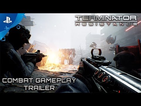 Terminator: Resistance - Combat Gameplay Trailer | PS4 thumbnail