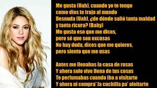 Shakira & Anuel AA - ME GUSTA (Letra /Lyrics)