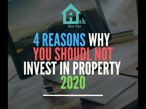 4 reasons why you shouldn't buy an investment property Singapore 2018 v3