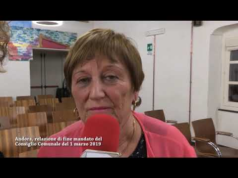 ANDORA, BILANCIO DI FINE MANDATO PER MARIA TERESA NASI, ASSESSORE ALLA CULTURA