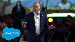 Salesforce TrailheaDX '18 Opening Keynote - Part 1: Create Connected Customer Experiences